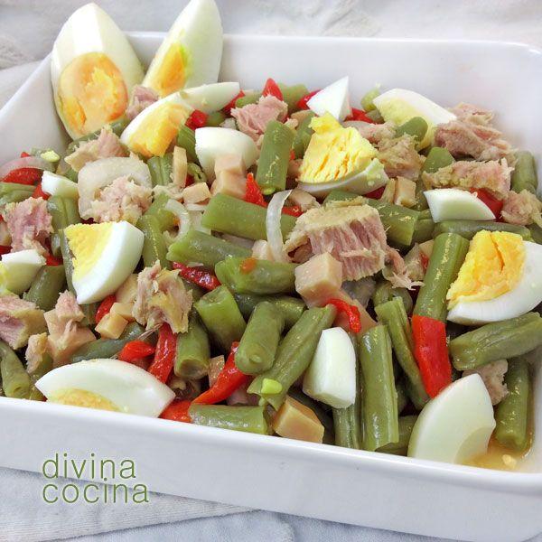 Como preparar ensaladas verdes para bajar de peso