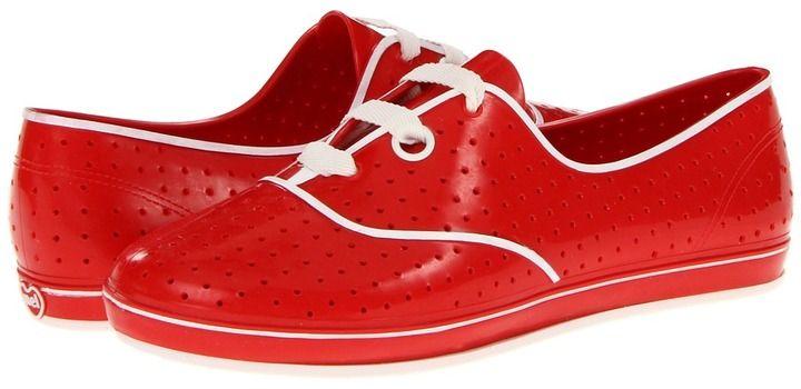 Mel by Melissa - Mel Lime II (Red) - Footwear on shopstyle.com