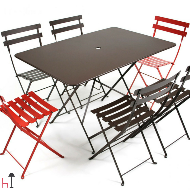 Charming And Functional, The Rectangular Bistro Table By Fermob Boasts A  Refined French Style. Folding TablesFolding ChairBistro ... Amazing Ideas