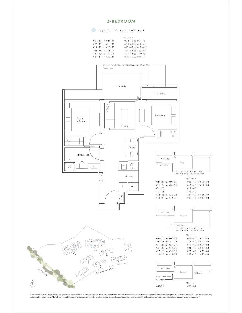 Site And Floor Plan Avenue South Residence Official Website Bernard Koh Sustainable Building Design Cluster House Residences