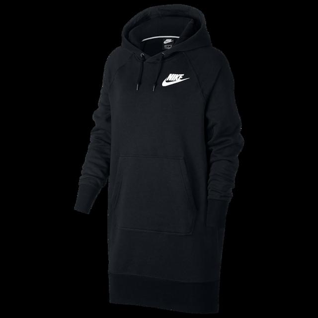 Nike Rally Ribbed Hoodie Dress - Women