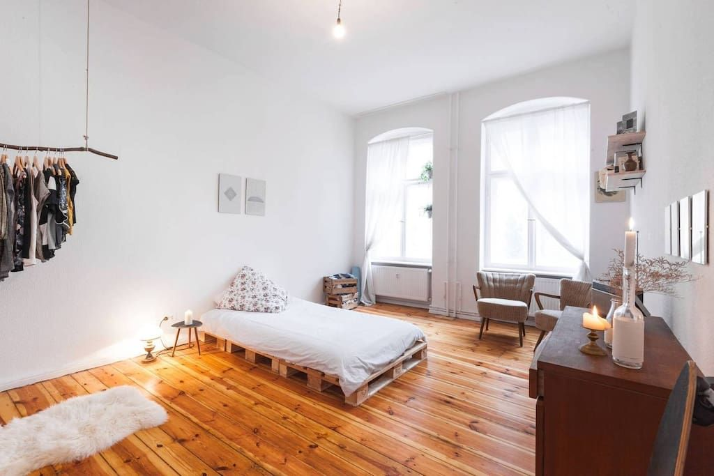 Wohnung in Berlin, Deutschland. The room is suitated in
