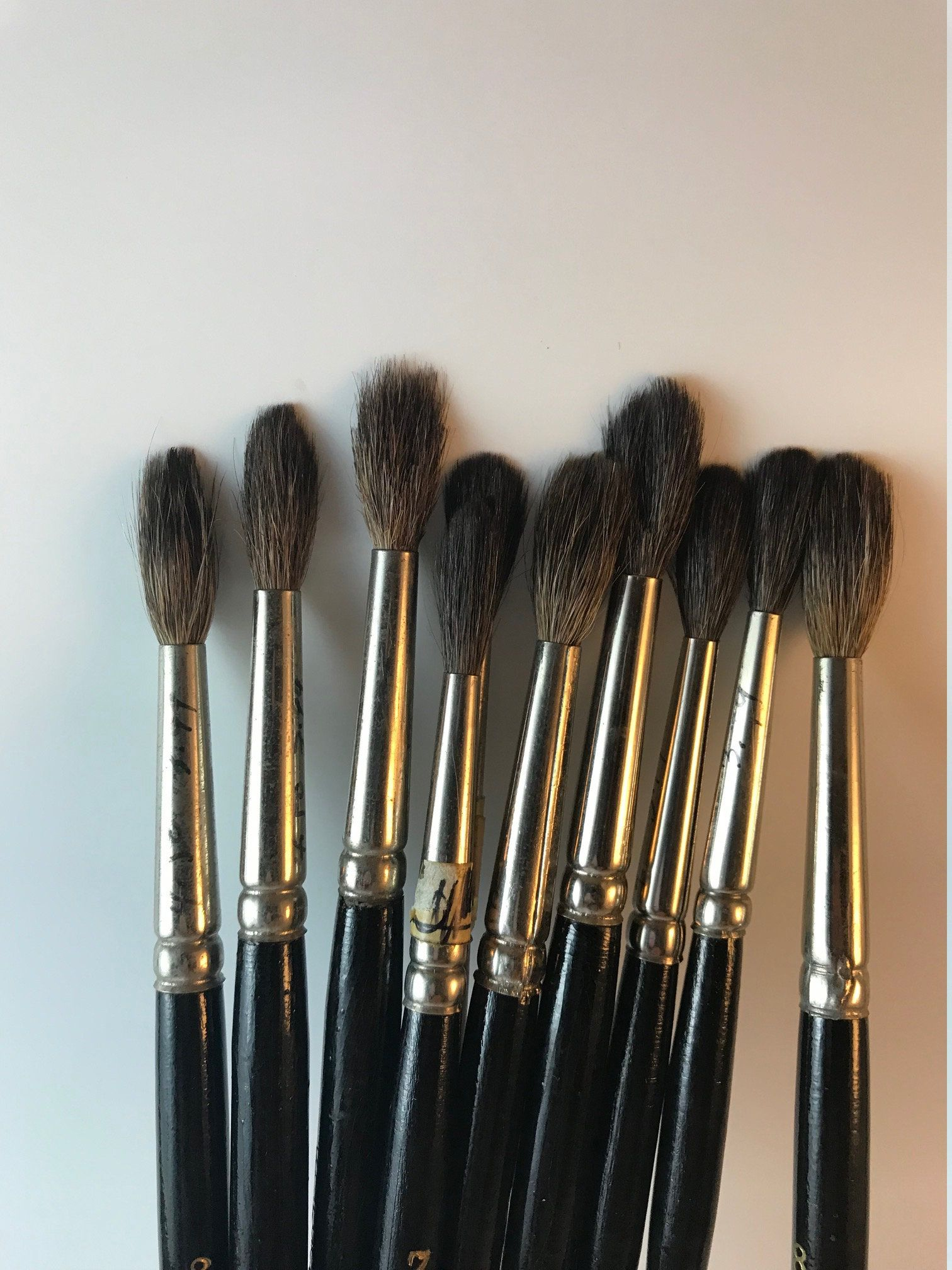 Your Place To Buy And Sell All Things Handmade Natural Hair Brush Artist Gifts Artist Brushes