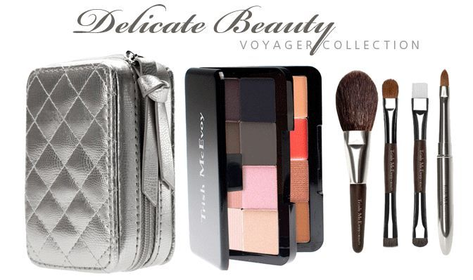 Trish Mcevoy Delicate Beauty Voyager Collection Is A Smart Way To Travel Or Carry In Yo Trish Mcevoy Makeup Planners Trish Mcevoy Makeup Trish Mcevoy Planner