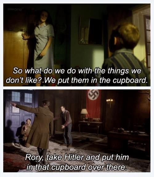 Things we don't like. I see what you did there, Moffat. Via Doctor Who and the TARDIS by Craig Hurle