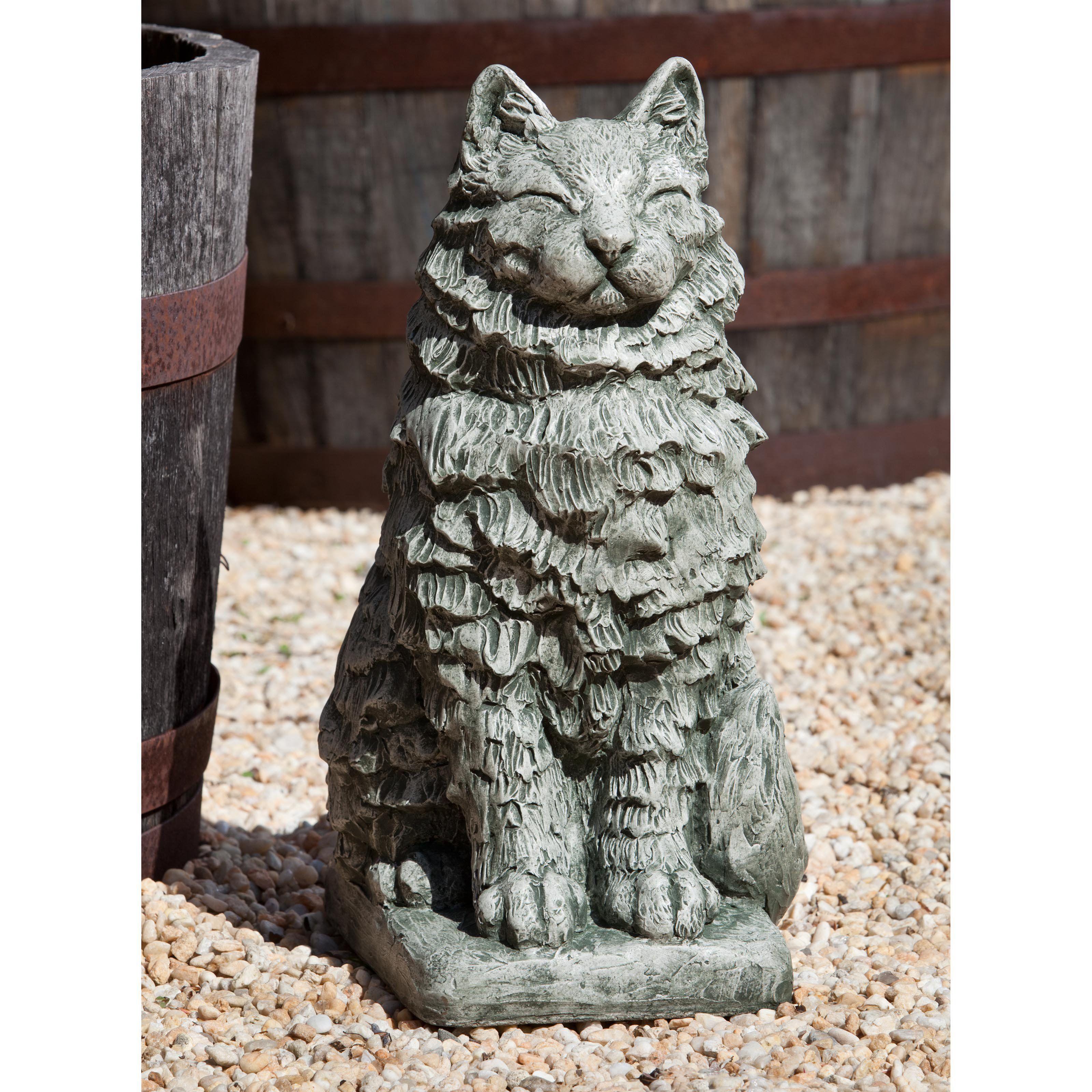 statue dahms lewis garden to a sculpture britta blog the dylan cat visit