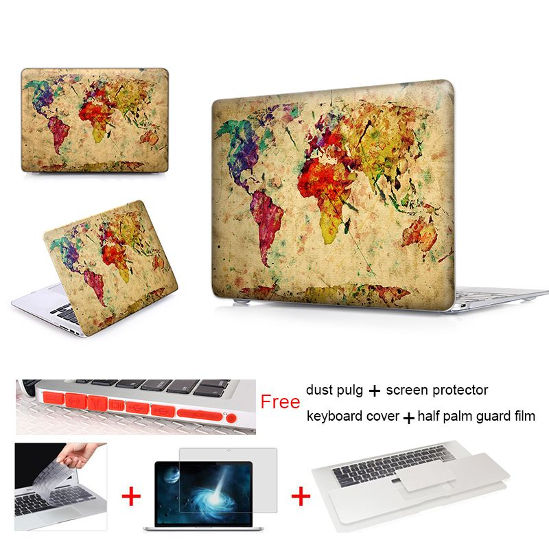 Antique map of world laptop sleeve protective cover for notebook antique map of world laptop sleeve protective cover for notebook apple laptop macbook air case for gumiabroncs Choice Image