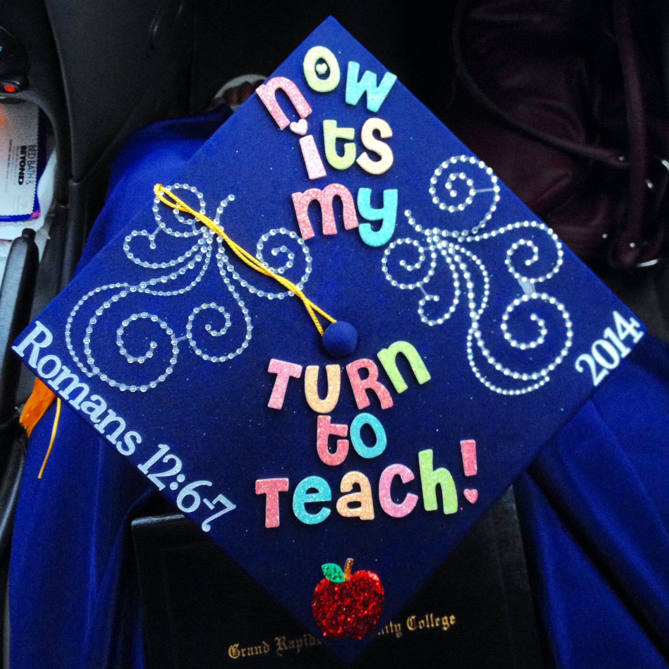My Graduation Cap Decorations Teacher Earlychildhood