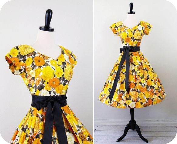 Jeg samler på vintage 50er kjoler og har efterhånden fået skaffet ...