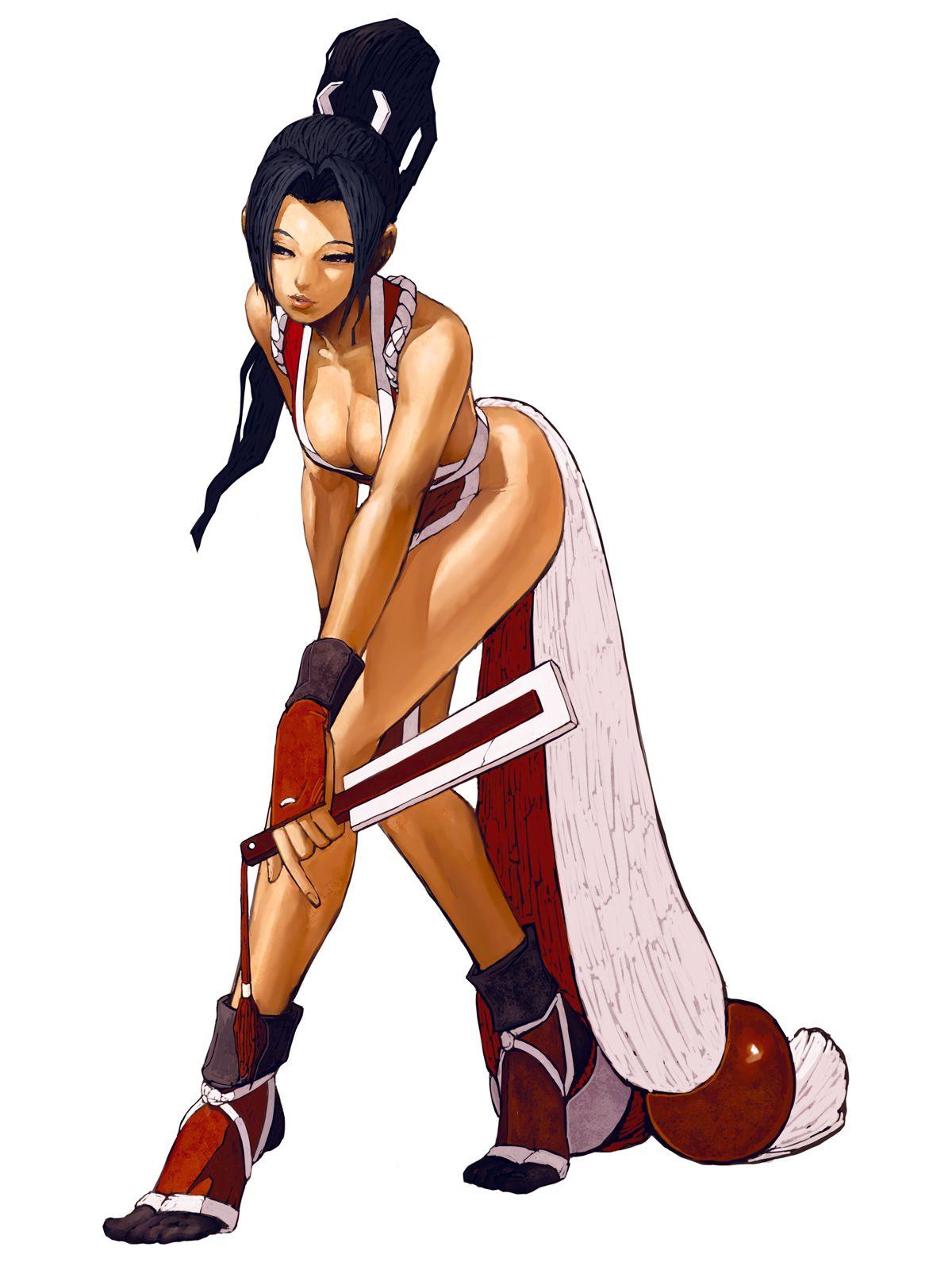 Kof 2002 Mai Shiranui Jpg 1200 1600 Mai Kof Kof Capcom Vs Snk