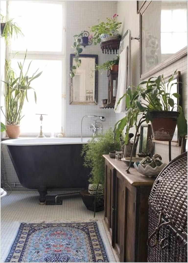 Inspiring Bohemian Style Bathroom Decor Ideas   Bohemian style ...