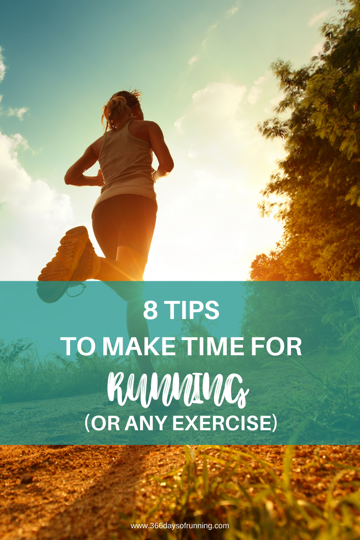 How to make time for running (or any exercise) | Running tips for fitting running into your daily sc...