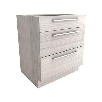 Best 34 3 4 H X 30 W X 23 1 2 D White Drawer Base Cabinet 400 x 300
