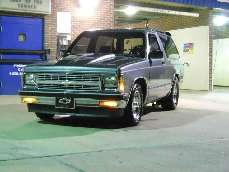 98330dd10f3e7edface847a0045f660d Jpg 736 552 Chevy S10 S10 Truck S10 Blazer