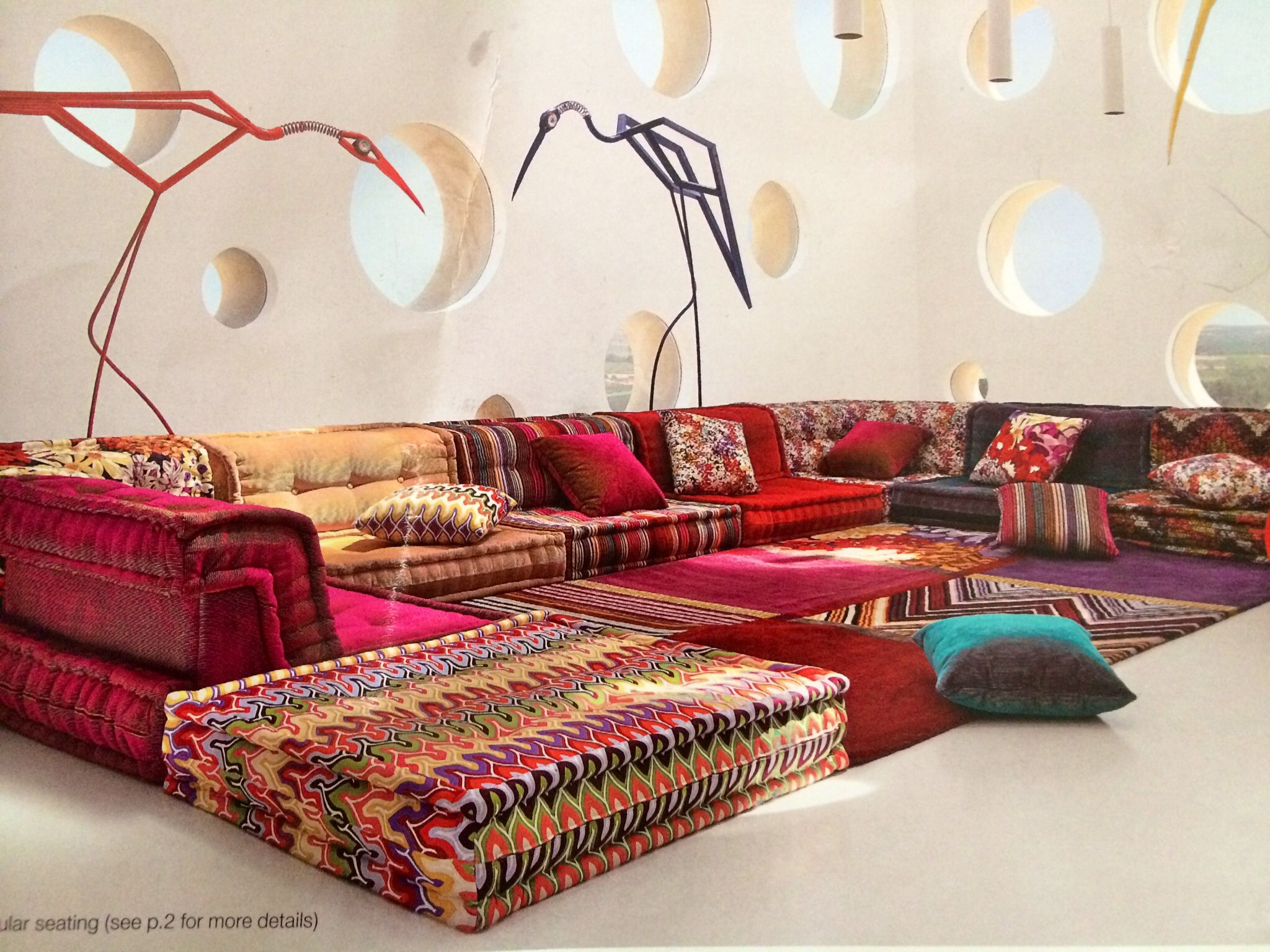 Modular Sofa Uxbridge Roche Bobois This Amazing Couch Is Versatile Rich In Color