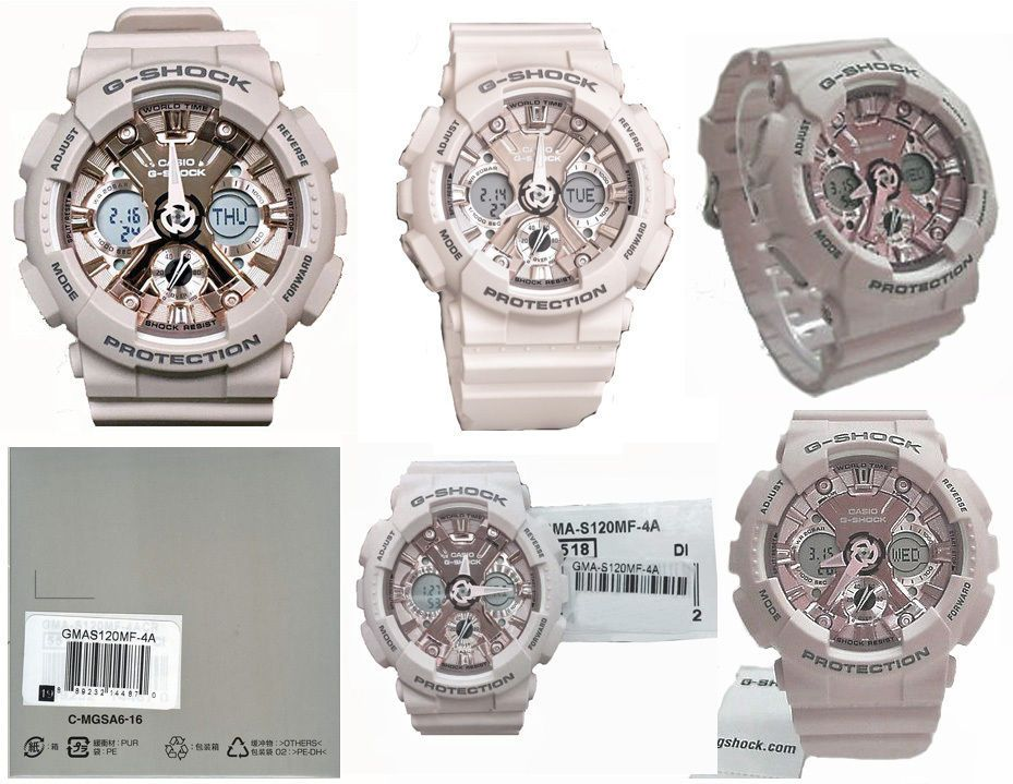 73f9ffcffe92 Casio G-Shock GMAS120MF-4A S-Series Pastel Color Collection Watch  889232144870