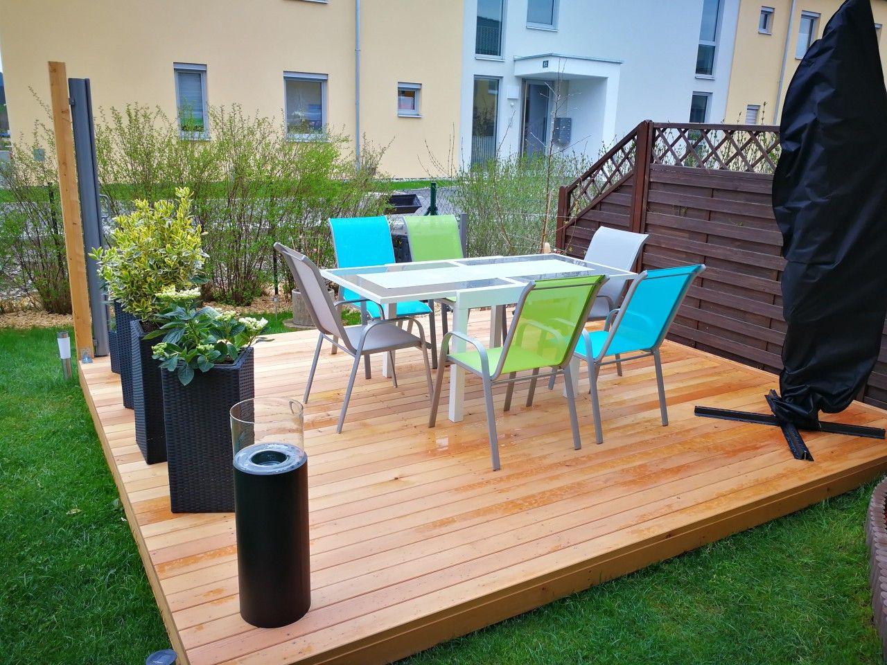 Terrassen Podest Aus Larche Terrasse Podest