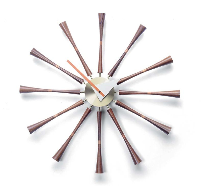 Vitra Spindle Clock versandkostenfrei bei minimum17.de