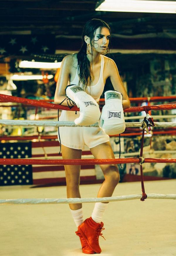 Meet Emily Ratajkowski 'The Boxer', Lensed By Olivia Malone, Out In Summer 2013 — Anne of Carversville