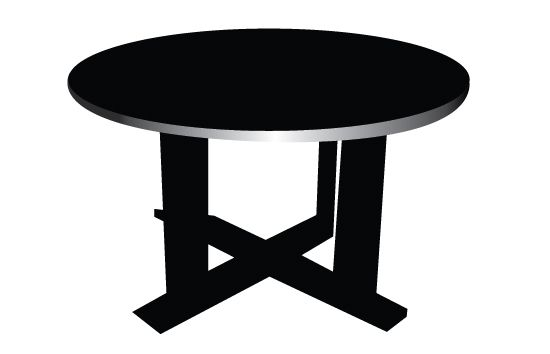 Table Silhouette Vector Silhouette Vector Vector Free Download