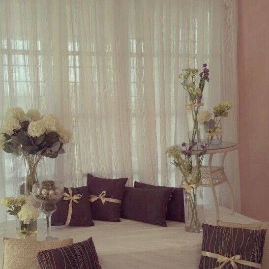 Wedding Nikah Simple Backdrop Decoration Muslim: Malay Wedding Dress, Wedding, Wedding