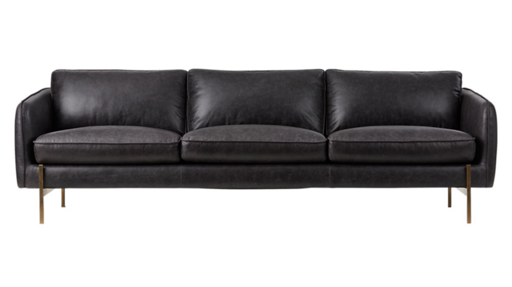 Alfred Distressed Brown Leather Sofa Reviews Cb2 Cognac Leather Sofa Brown Leather Sofa Best Leather Sofa