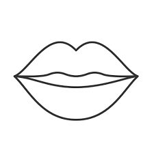 Lips Coloring Pages 35 Coloring Pages Free Printable In 2021 Lip Outline Lips Drawing Coloring Pages