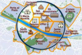 Image Result For Florence Italy Map Of Attractions