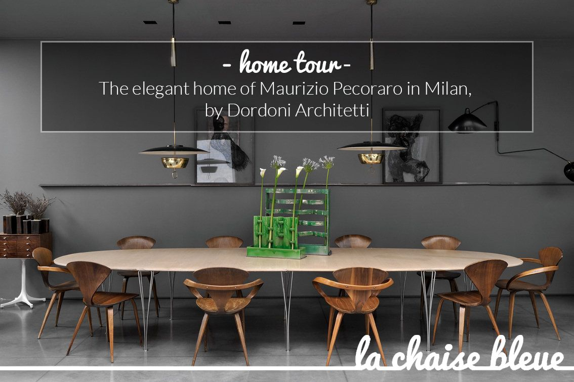 Home tour: the elegant home of Maurizio Pecoraro in Milan, by Dordoni Architetti