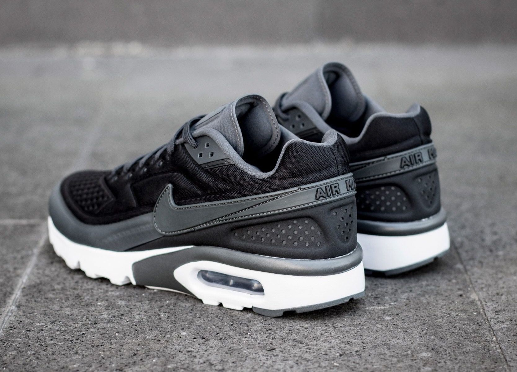 Air Max Classic Nike Air Classic Bw Ultra Black Grey In 2019 Nike Shoes