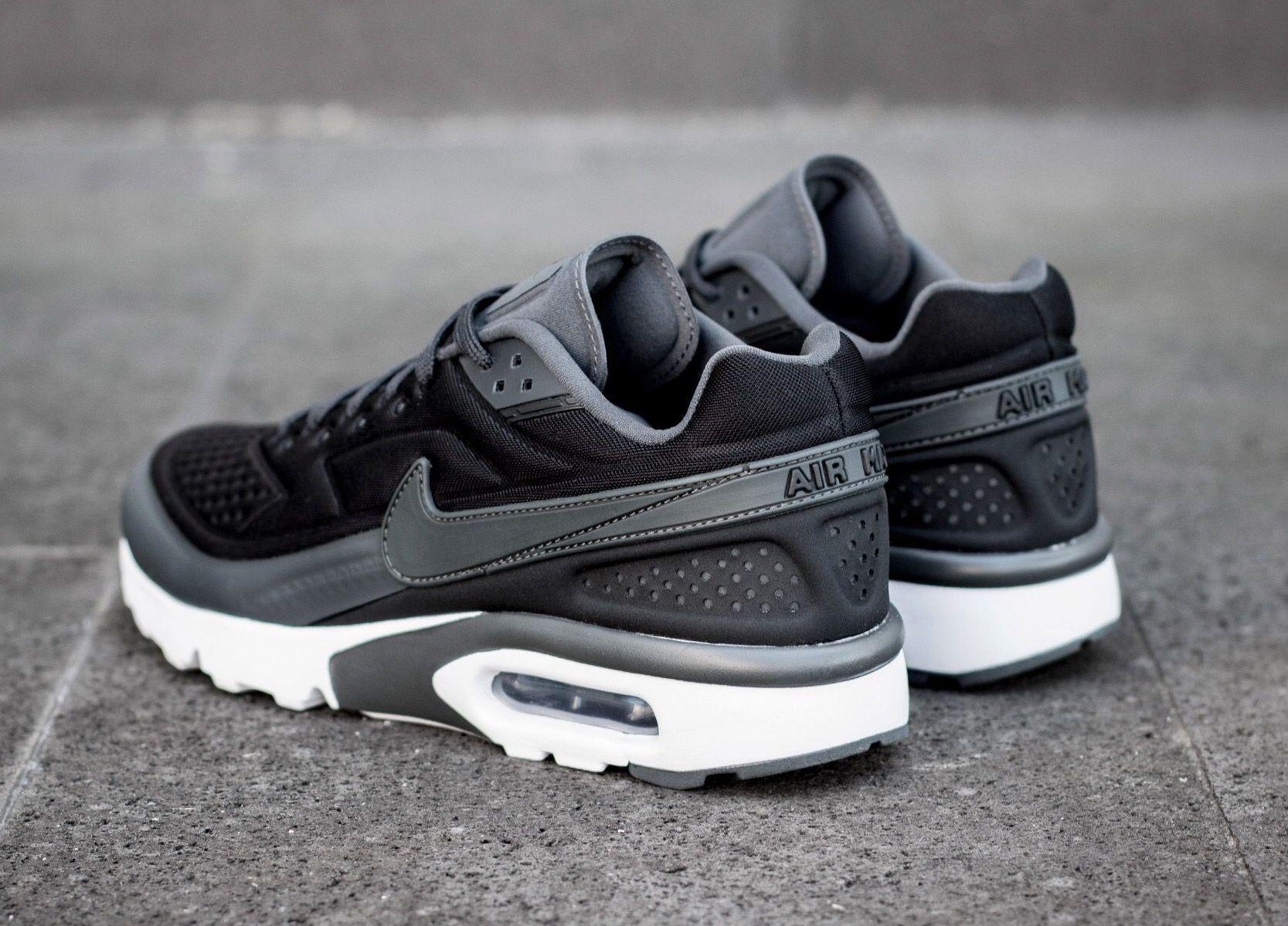 Nike Air Classic Bw Ultra Black Grey Nike Shoes Air Max Black Nike Shoes Nike Air Max Mens