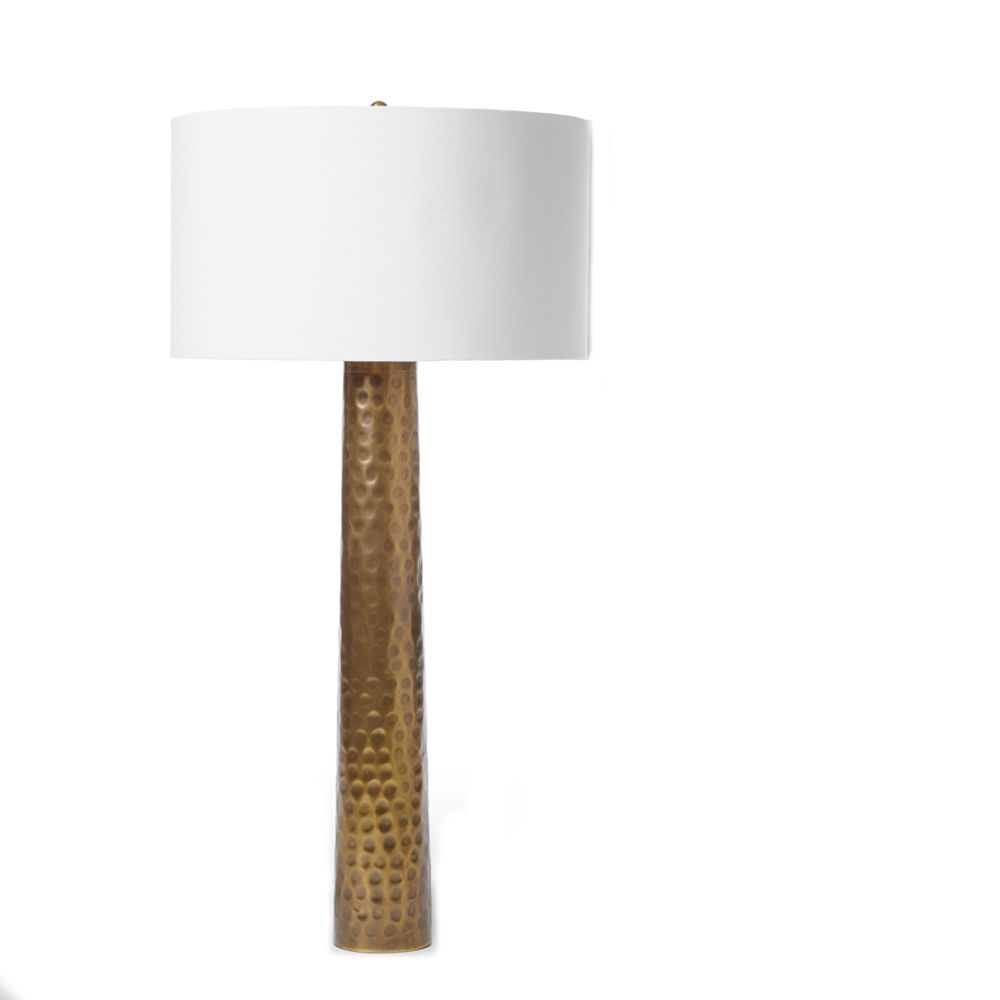 Hammered Lamp From Barbra Cosgrove - Coveted Home