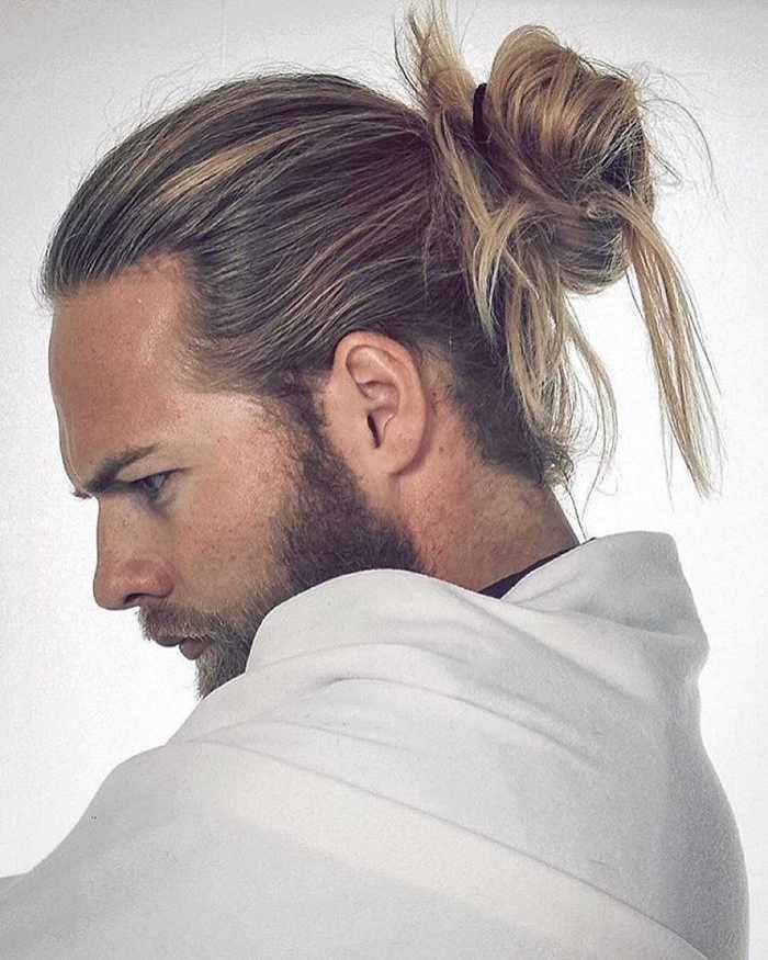 Fabulous Long Hairstyles For Men 27 Man Bun Hairstyles Man Bun Haircut Long Hair Styles Men