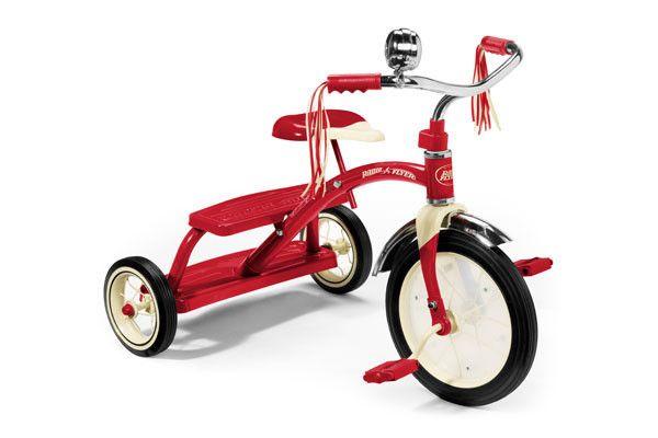 Dual Deck Trike Radio Flyer Tricycle Red Trike
