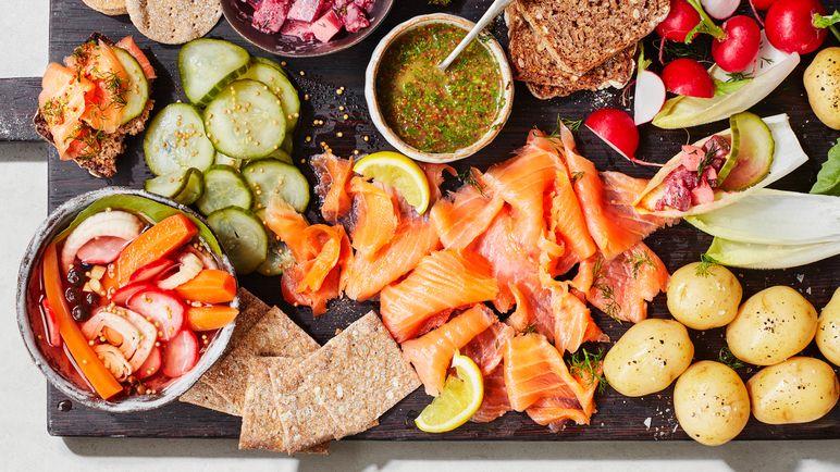 Make Scandinavian Buffet Food At Home Scandinavian Food Buffet Food Swedish Recipes