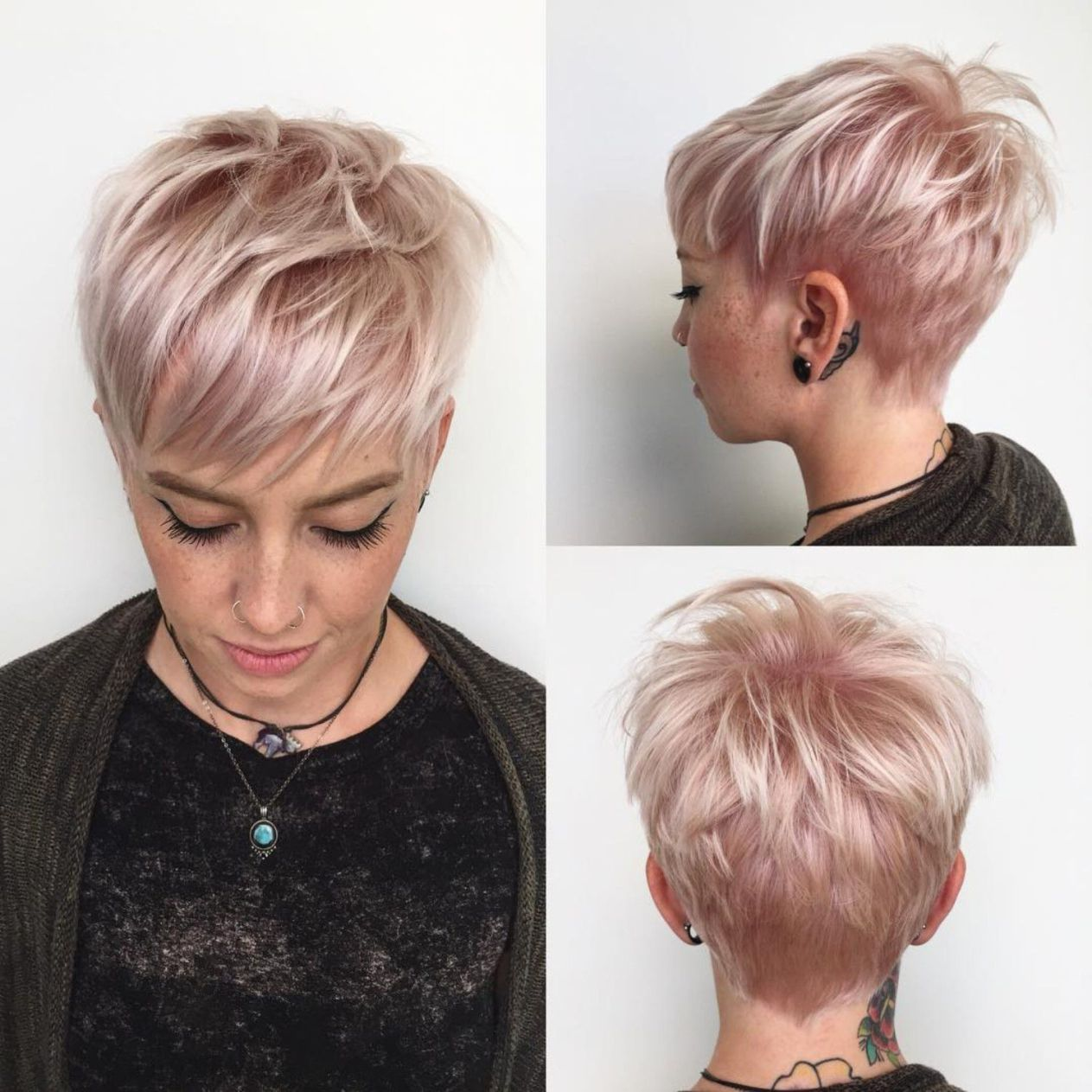 100 Mind Blowing Short Hairstyles For Fine Hair Short Hairstyles Fine Short Pixie Haircuts Fine Hair