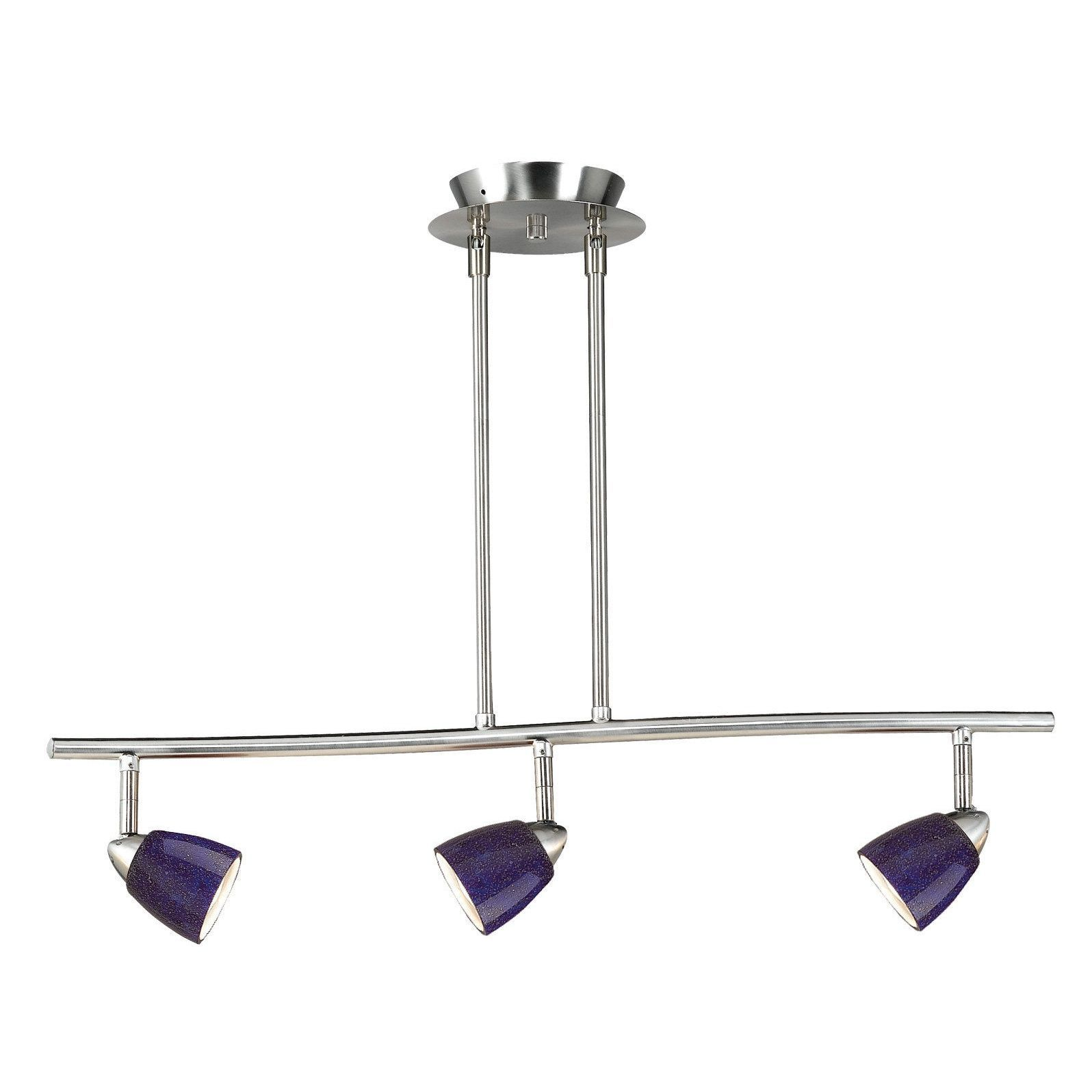 blue track lighting. 120-volt 3-light Serpentine Light (Track Lights), Blue Track Lighting -
