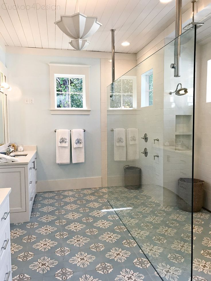 Southern Living Idea House 2017 Part 1 Modern White Bathroom Southern Living Homes French Country Bathroom