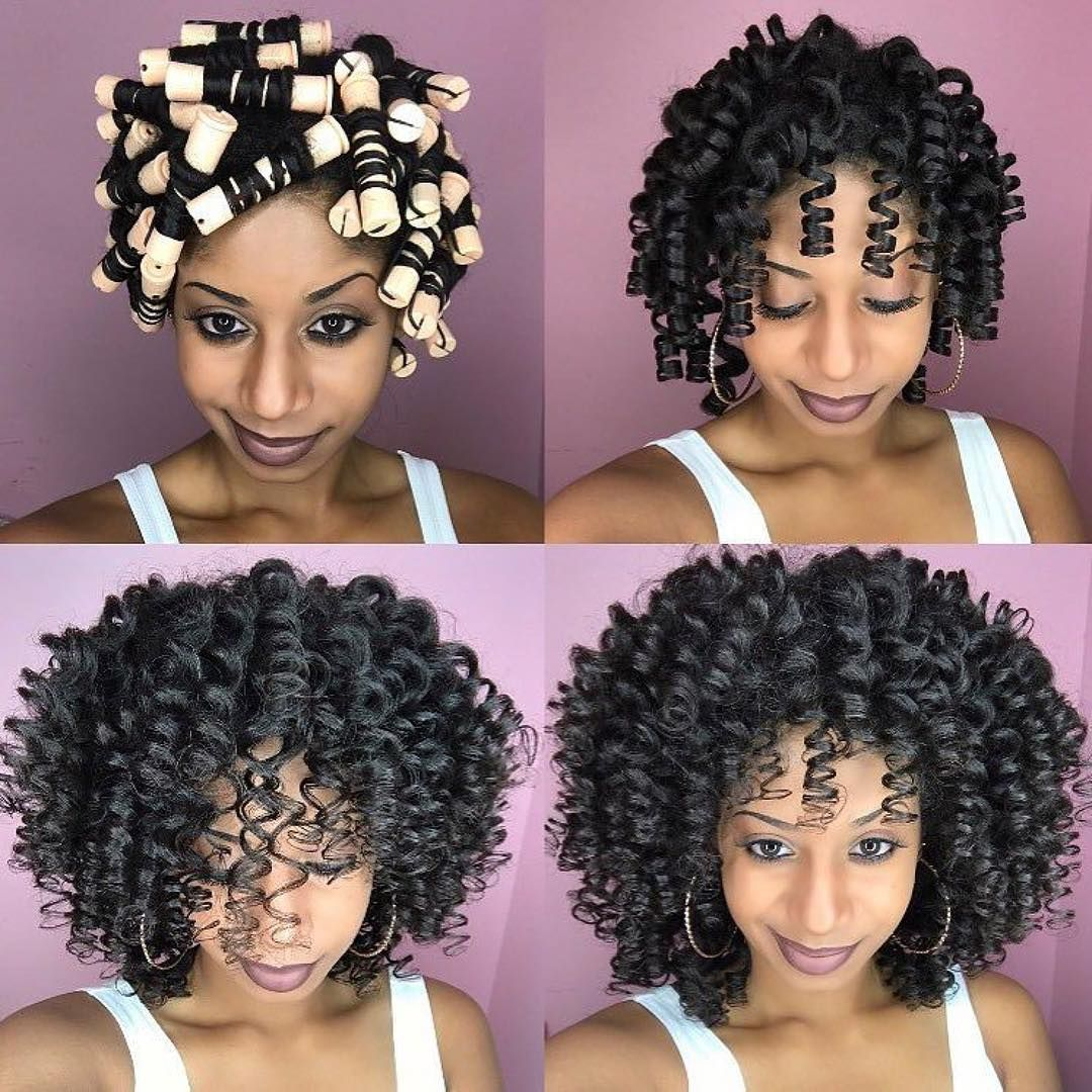 12 Bomb Perm Rod Set Hairstyle Pictorials And Photos Natural Hair Rod Set Natural Hair Styles Roller Set Hairstyles