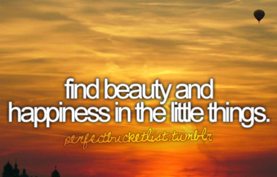 beauty and happiness