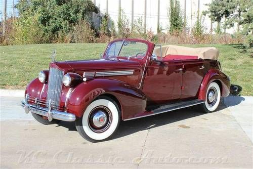 1938 Packard Eight 1601 Convertible Sedan For Sale Coches Clasicos Coches Antiguos Autos