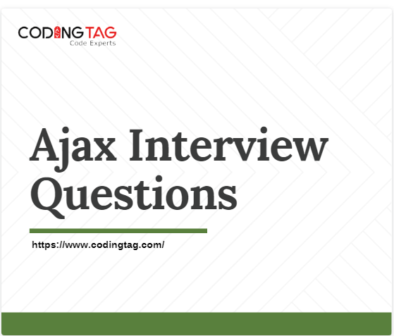 Top 30 Ajax Interview Questions Interview Questions This Or That Questions Coding