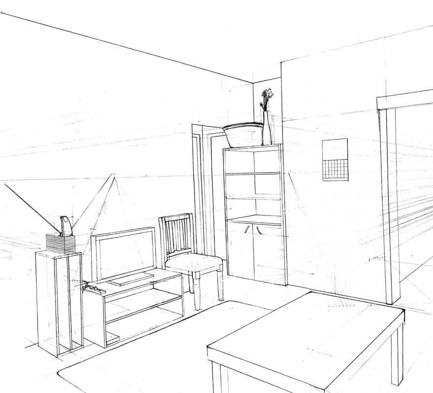 Bildresultat fr how to draw rooms