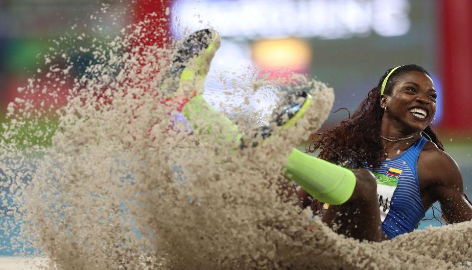 Colombiana Catherine Ibargüen gana el oro en triple salto de Río 2016