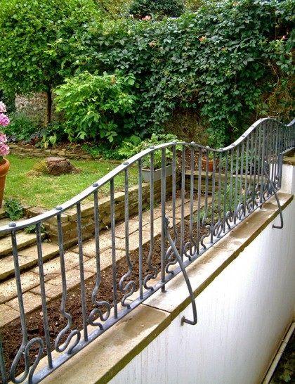 Garden Railing Designs