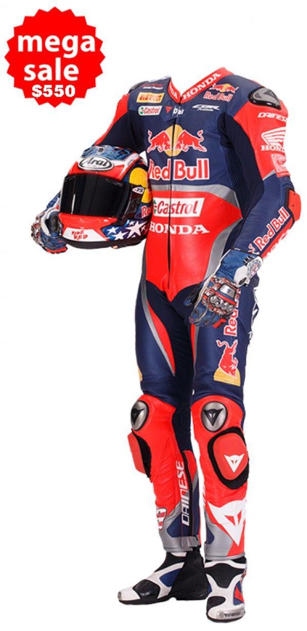 f3b3f0780ce Nicky Hayden Honda Red Bull Motorcycle Race Suit