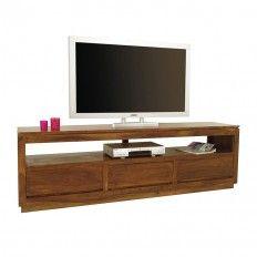 Meuble Tv Design En Palissandre Salon A L Ambiance Zen Meuble Tv Meuble Tv Design Et Mobilier De Salon