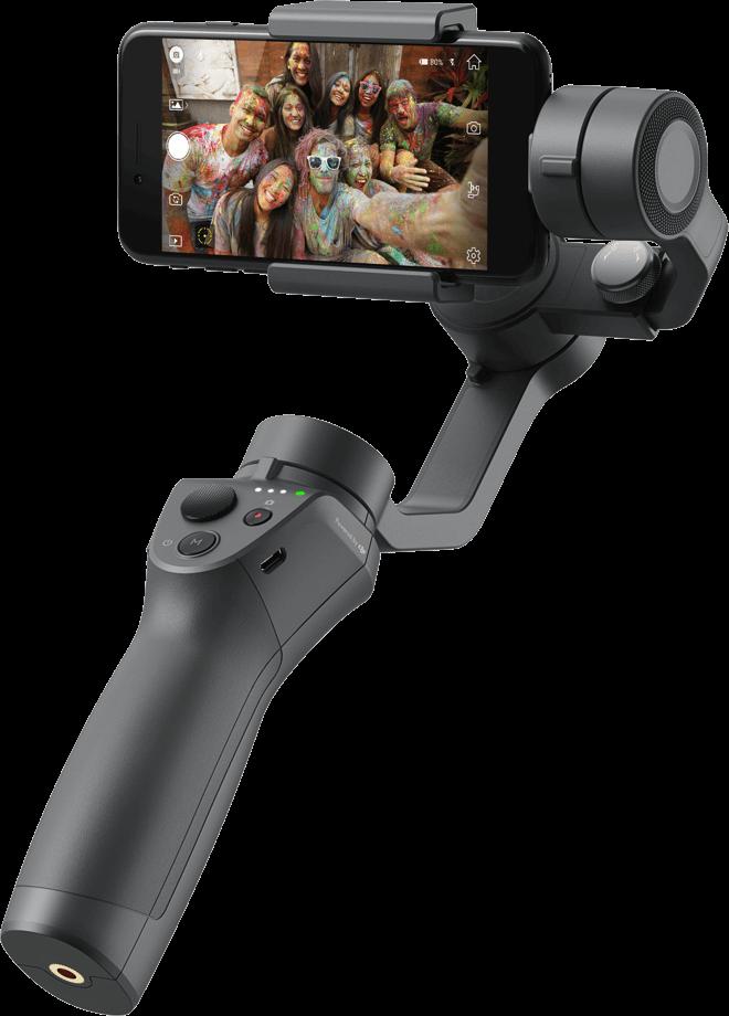 with Base Combo DJI Osmo Mobile 2 Handheld Smartphone Gimbal