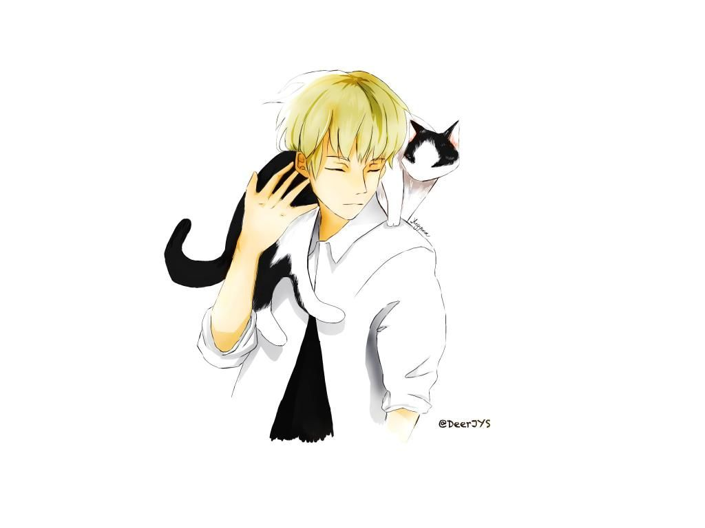 GOT7&Cat 4/7 #GOT7 #유겸 #yugyeom #GOT7FANART