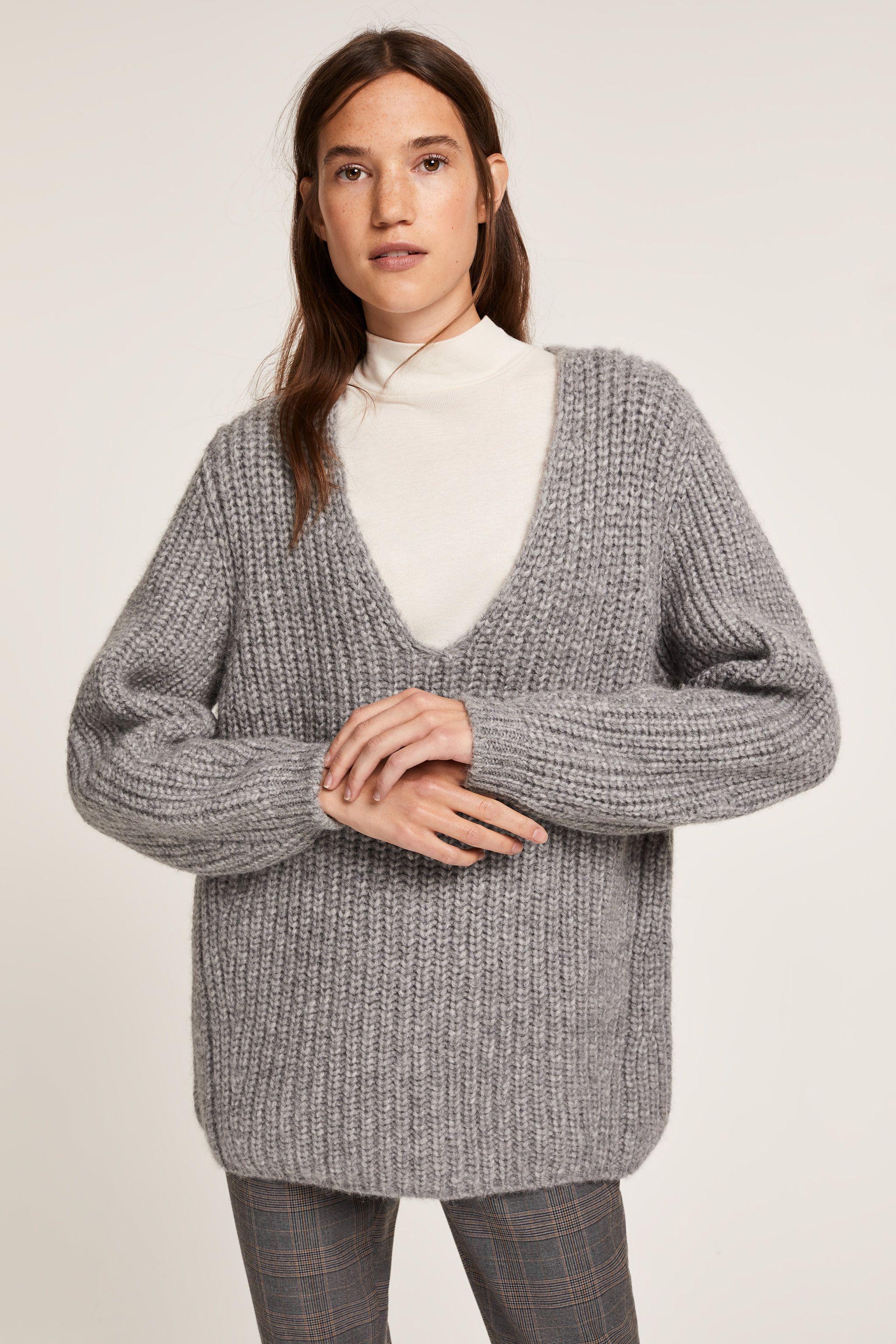 closed sale pullover, Closed Pullover mit V Ausschnitt aus